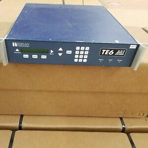 Tiernan Communications TE6 Television Broadcast Station 4:2:2 MPEG-2 Encoder
