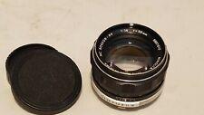 Minolta Rokkor PF 58mm f/1.4 MC Lens