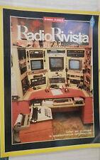 RADIO RIVISTA 10 1991 Antenne 5V10 Long Quad Corner reflector Oscillofoni di e