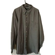 Britches Great Outdoors Mens XXL Cotton Long Sleeve Button Up Shirt