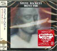 STEVE HACKETT-DEFECTOR-JAPAN  SHM-CD BONUS TRACK D50