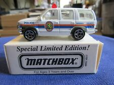 Matchbox Nassau County Police NYPD ASAP Chevy Tahoe Special Limited Edition 1:64