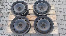 4x Stahlfelgen Ford Focus (DA3/DB3)/ C-Max 6J x 15 ET 52,5 5 Loch