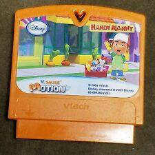 V-Tech V. SMILE Motion Disney Handy Manny 2009 Game Cartridge