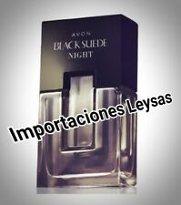BLACK SUEDE NIGTH EAU DE TOILETTE FOR HIM BY AVON MEXICO 100ML