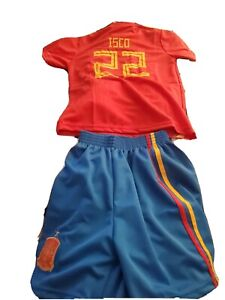 Isco Spain authentic Replica jersey Youth Large