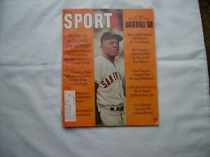 Sport Magazine May 1968 (Willie Mays)