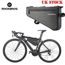 RockBros Waterproof MTB Road Bike Cycling Triangle Large Tube Frame Bag 5L/8L UK