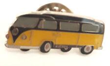 """T1 Seitenansicht """"gelb/schwarz"""" Ansteckpin (N80)"""