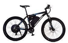 Fast Electric Bike Ebike, 30+mph, 1000W, 48V, Disk Brakes, Zoom Fork, UK Support