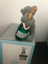 CELEBRATE - RARE BOXED ME TO YOU TATTY TEDDY BEAR FIGURINE RESIN ORNAMENT