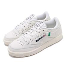 Reebok Club C 85 Chalk Green Beige White Men Women Unisex Classic Shoes FX1378