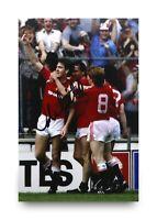 Norman Whiteside Signed 6x4 Photo Manchester United Autograph Memorabilia + COA