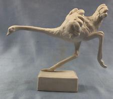 Emu Strauß vogel figur porzellanfigur Tierfigur Wallendorf  Porzellan