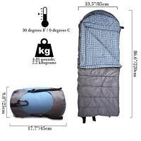 SLEEPING BAG & SLEEPING MAT Self inflating! 3 Season! Tent Camping Mattress NEW!
