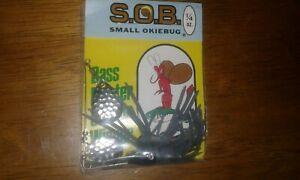 Vintage Small Okiebug S.O.B. Spinner Bait - Nice 1/4 oz. Lure - Tulsa Oklahoma