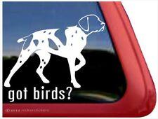 Got Birds?| German Shorthair Pointer Gun Dog Window Decal Sticker