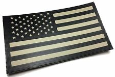 "Large 5x3"" Forward Tactical IR INFRARED REFLECTIVE US FLAG Decal / Sticker"