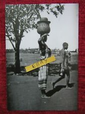 1916 Ww1 East Africa Local Tribal Carrier Woman With Basket Photo Print fc81