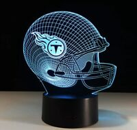 Tennessee Titans Collectible Night Light Lamp Home Decor Christmas Gift Kids