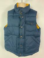 BOYS GAP NAVY BLUE CASUAL PADDED WINTER GILET BODY WARMER COAT KIDS AGE 3 YEARS
