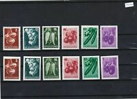 BULGARIA PERF AND IMPERF STAMP SETS  UNMOUNTED MINT    REF 3093