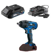 """DRAPER 20V CORDLESS 1/2"""" IMPACT WRENCH RATCHET & 2AH BATTERY + CHARGER 89519"""