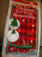 Christmas Tree Skirt and Removal Bag