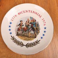 Bicentennial 1776-1976 Fife & Drum Collector Plate Spirit Of 76 Willard