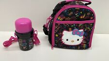 Hello Kitty Lunch Bag With Beverage Container