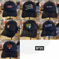 BTS BT21 Official Authentic Goods Ball Cap 7Characters 57cm By LINE FRIENDS