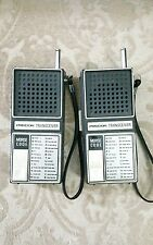 PRECOR TRANSCEIVER WALKIE TALKIE VINTAGE 1976 IN WORKING CONDITION