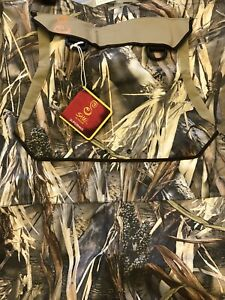 New Cabela's Women SHE Breathable Dry Plus Chest Wader True Timber DRT Camo Sz 7