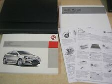 VAUXHALL ASTRA OWNERS MANUAL HANDBOOK  2004-2010  INC TWINTOP GUIDE M64