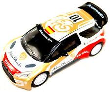 CITROEN DS3 WRC Abu Dhabi total 2013 edition nouveau + véritable Espagne ed amc19159