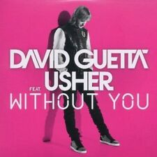 ★☆★ CD Single David GUETTA Feat USHER Without you 2-track CARD SLEEVE NEW  ★☆★