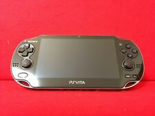 Used SONY PS Vita PCH-1000 ZA01 Black Wi-fi Model Console F/S From Japan