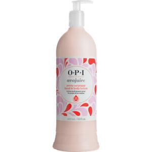 OPI Avojuice PEONY & POPPY 32oz Hand Body Moisturizer Lotion