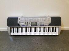 Casio CTK 491 Electric Piano Keyboard 61 Keys 100 Tones Rhythms And Songs (O)