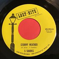 5 Sharks: Stormy Weather / If You Love Me 45 - Doo Wop
