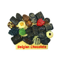 Belgium Chocolate Fridge Magnet Tourist Souvenir Sticker Home Decor Collection