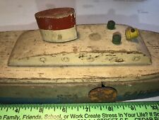 New listing Antique Keystone Wood boat Sea Raider Target Ship