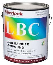 Fiberlock - LBC - Lead Barrier Compound -  Encapsulant - White - 4x1 Gal - 5801