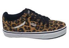 Womens Vans Seldan Leopard Cheetah Skool Plimsolls Shoes