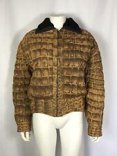 Rare Vtg Gianni Versace Croc Print Jacket Sz 48 M