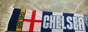 Barcelona & Chelsea League Champions Football Supporters Scarf - Unused