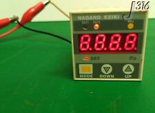 7693 NAGANO KEIKI DIGITAL DIFFERENTIAL PRESSURE GAUGE (LOT OF 2) GC62