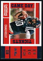 2017 Panini Contenders Draft Picks Football Game Day Tickets #13 Chad Kelly