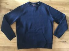 Nike Mens Tech Fleece Sweatshirt Crew Neck Jumper Top Blue Size Large New