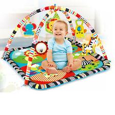 Bunte Baby-Krabbeldecke mit Spielbogen Erlebnisdecke Spielmatte